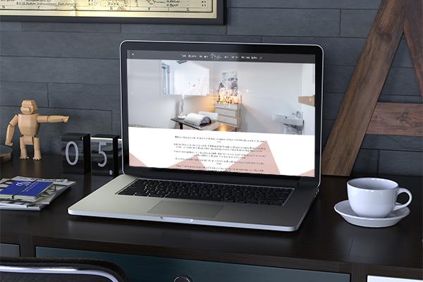 Webdesign Madeline Bien Etre, vitrine