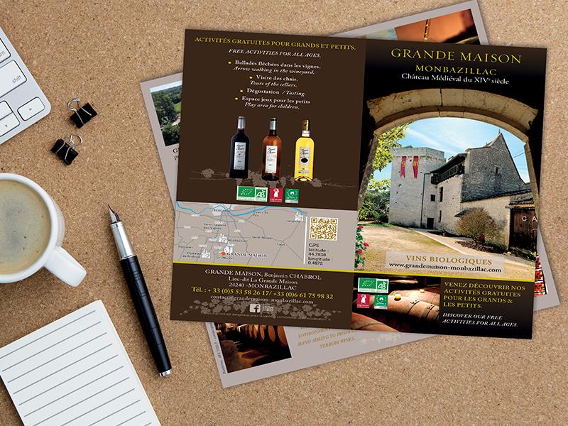 Mise en page, flyer, brochure, catalogue