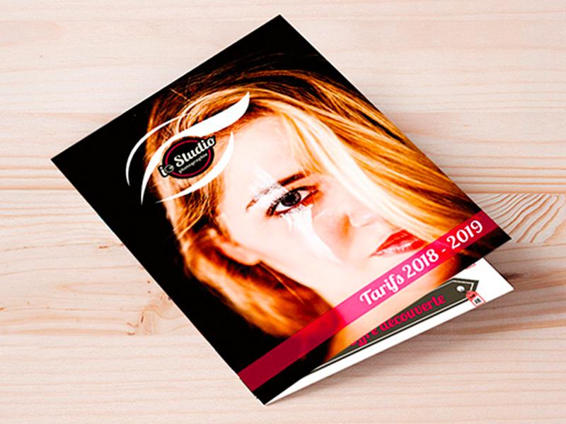 Brochure, mise en page